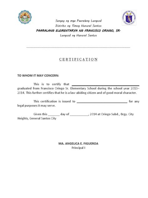 certificate of moral character template certificate of moral character cpa gallery