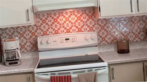peel and stick backsplash home depot kitchen metal