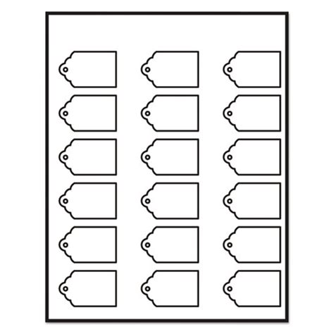 avery printable tags with strings scallop ave22848 avery printable scalloped edge tags with strings