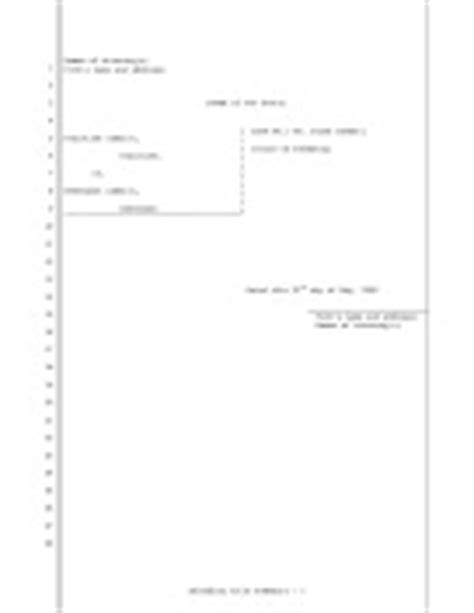 legal pleading templates and paper available for free download