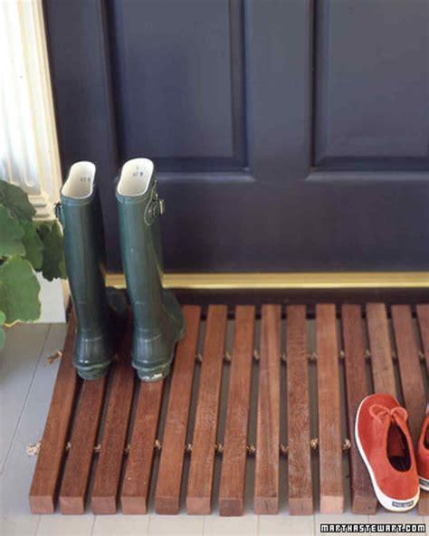 Wood Doormat by Wooden Doormat Martha Stewart