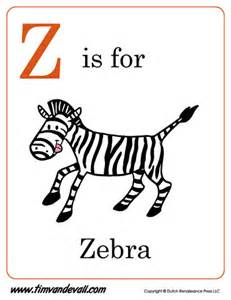 z is for zebra letter z coloring page pdf