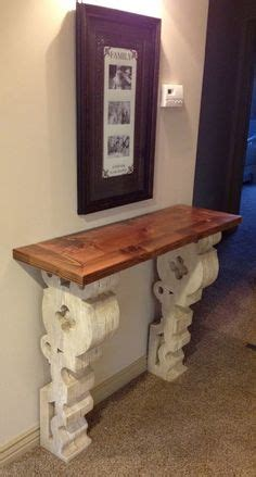 wall mounted entry table corbel tables on entry tables wall mounted