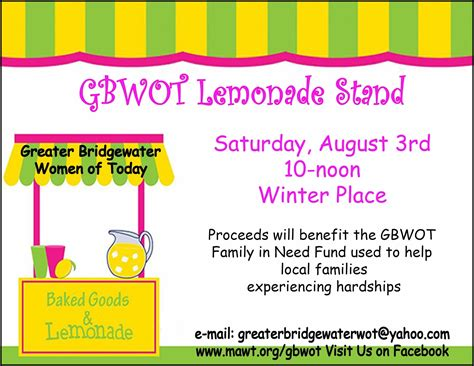 lemonade stand business plan template around the common gbwot papa gino s fundraiser and