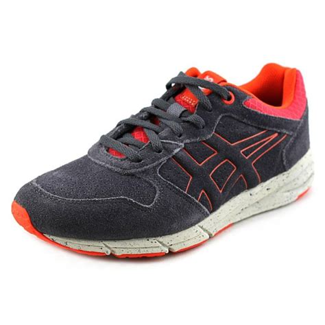 suede running shoes asics shaw runner youth suede gray running shoe view all