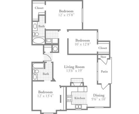 12 x 15 kitchen floor plan ambassador style apartment crowne polo stylish