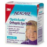 coverlet eye patch adhesive bandages nexcare opticlude orthopic eye patches