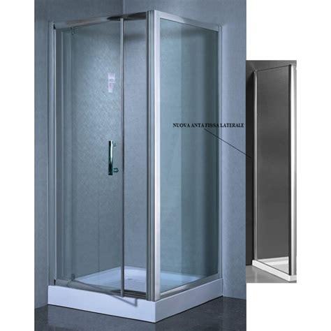 box doccia cristallo 6 mm line box doccia a porta battente cristallo