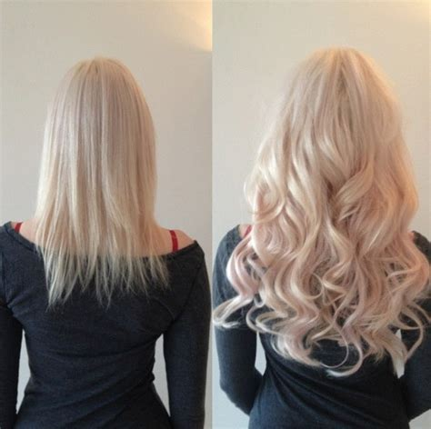 hair extensions before and after micro bead hair extensions before and after