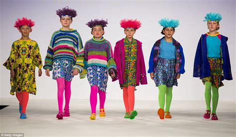 models of all ages take to graduate fashion week catwalk