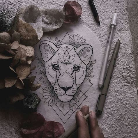 lioness tattoo design best 25 lioness ideas on shoulder