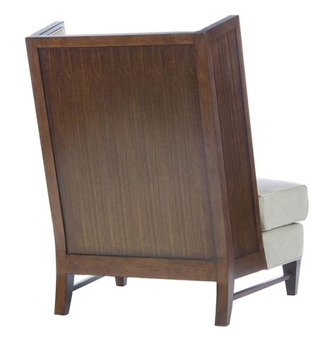 mid century modern wing chair mid century modern wood back wing back accent chair