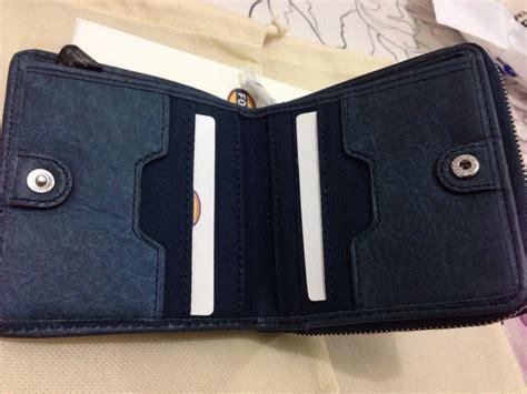 Dompet Wanita Fossil Original Dawson Wallet Warna Blue Stripe9 new menjual branded things brand new or 99 new