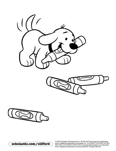 clifford puppy days coloring pages coloring pages