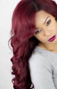 reddish burgundy hair color burgundy wine hair