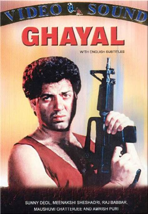 Biography Of Movie Ghayal | ghayal 1990 posters the movie database tmdb