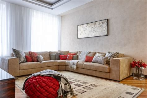 Light Beige Living Room by Style Family Interior In Brownish Hues Home