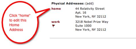 How Do You Put Apartment Number In Address Contact Overview Contact Card Helpdesk