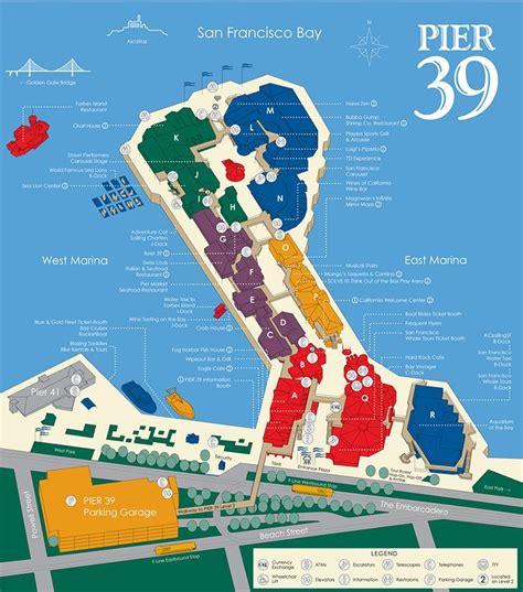 san francisco map restaurants 25 best ideas about pier 39 restaurants on