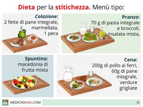 alimentazione contro stitichezza dieta per la stitichezza cosa mangiare alimenti
