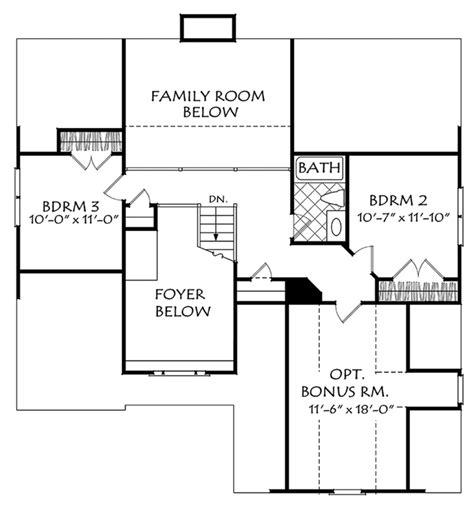 Craftsman 40442 by Large Laundry Room Betz House Plans