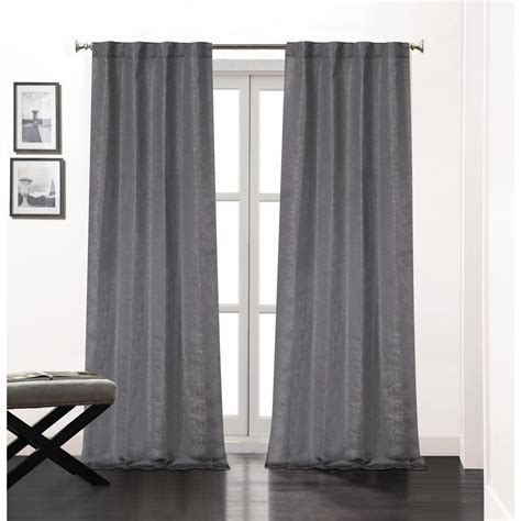 Charcoal Sheer Curtains Charcoal Sheer Curtains Soozone