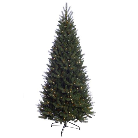 martha stewart living 7 5 ft pre lit led sparkling pine