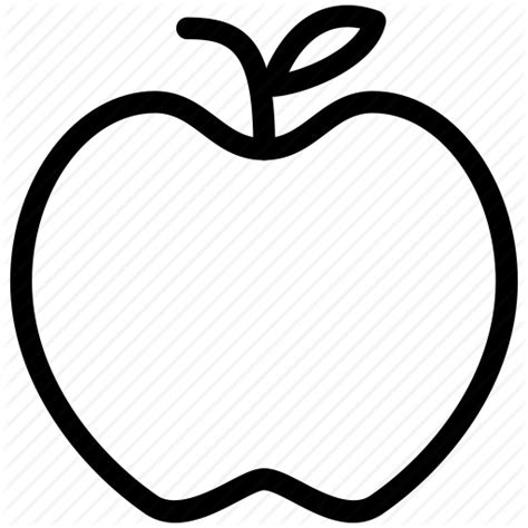 Apple Outline Png by Apple Calories Creative Doctor Fruit Grid Healthy Juice Peel Seeds Shape Sweet