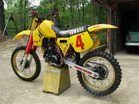 125 motocross bikes vintage 1984 yamaha yz 125 motocross motorcycle owner