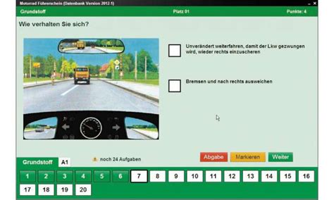 Motorrad F Hrerschein Online Test by Motorrad F 252 Hrerschein Im Test Pc Magazin
