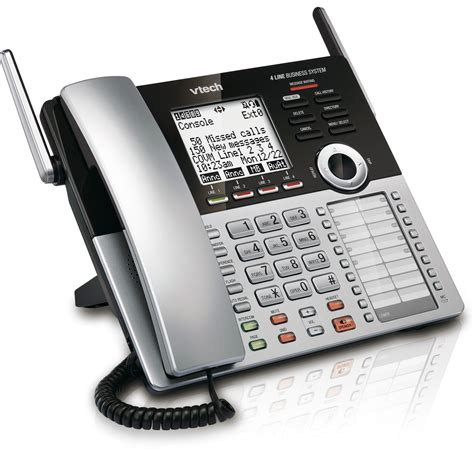 4 Phone System 4 Line Small Business Phone System Office Bundle 2 Sbs Ob2 Vtech 174 Cordless Phones