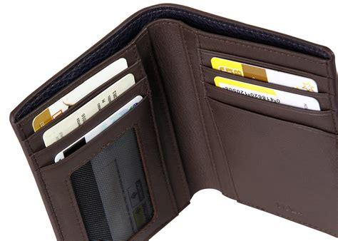 men s vertical wallet 7 credit card slots courier