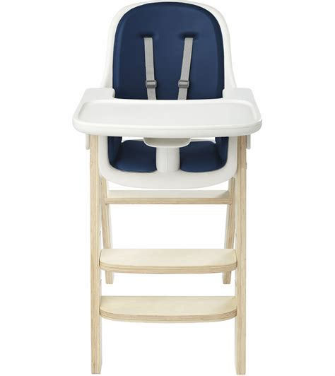 Oxo Tot Sprout High Chair by Oxo Tot Sprout High Chair Navy Birch