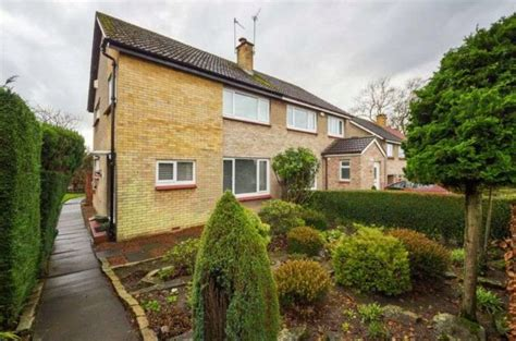 3 bedroom house edinburgh 3 bedroom semi detached house for sale in clerwood terrace
