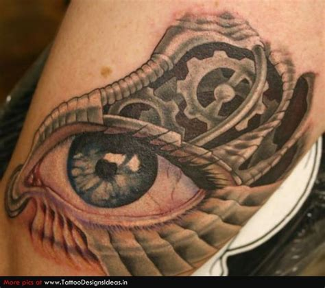 biomechanical tattoo book biomechanical eye tattoo design 2 tattoos book 65 000