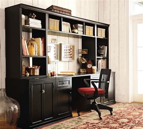 logan office suite pottery barn traditional side