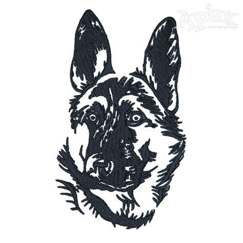 embroidery design german shepherd german shepherd dog embroidery design