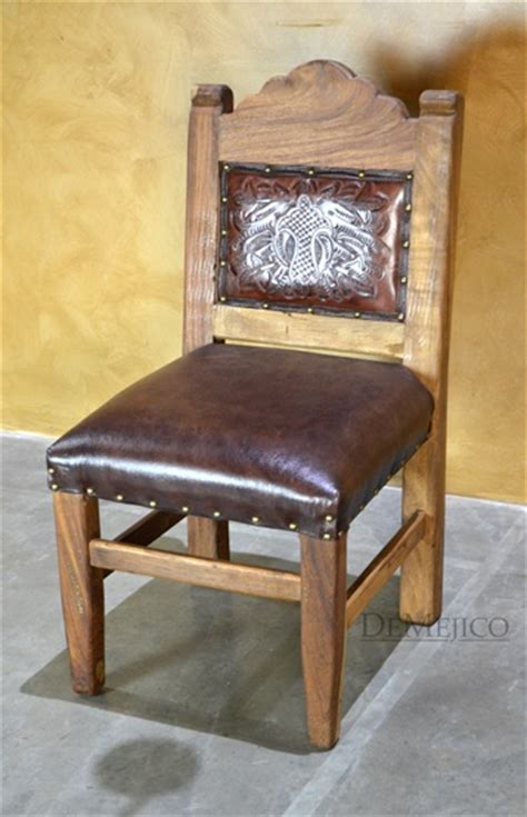 Mexican Leather Dining Room Chairs Rustic Dining Chairs Mexican Chairs Chairs