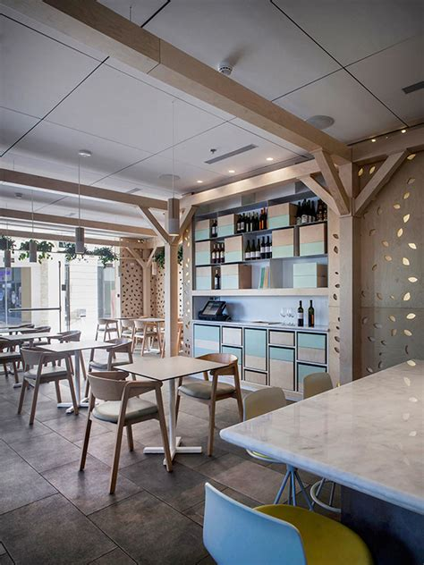 greenhouse cafe  roni keren interior design design milk