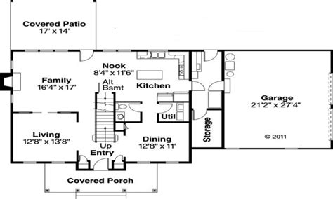 Simple Colonial House Plans Simple House Floor Plan Simple Rectangle House Floor Plans Simple Colonial House Plans