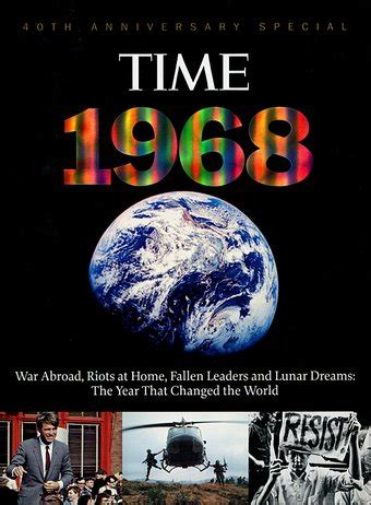 1968 the year that changed america books time 1968 the year that changed the world book 2008