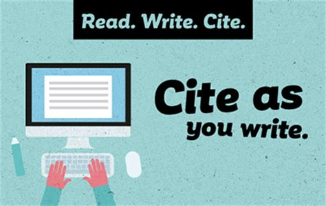 How Should I Cite Sources For Mba Classes by Read Write Cite