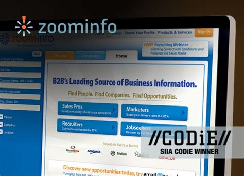 Zoominfo Search Ux Ui And Branding Projects Percepted