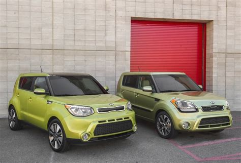 Compare Kia Models Kia Soul 2014 Vs 2013 Comparison With Pictures