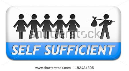 Where To Put Plants In House self sufficient stock images royalty free images