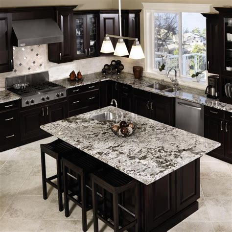inspiring ideas for black kitchen cabinets with marble
