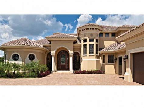 modern mediterranean house plans mediterranean modern house plans dhsw75052 house building plans
