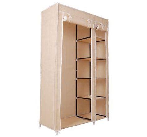 Temporary Closet Storage by Homcom 42 Quot Portable Clothes Organizer Closet W Shelves