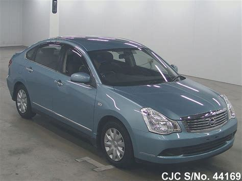 nissan bluebird model 2008 nissan bluebird sylphy blue for sale stock no
