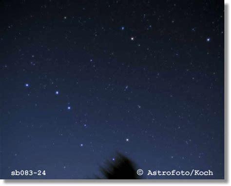kleiner und großer wagen highlights sternenhimmel